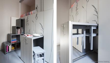 Kitoko 8 m2 lägenhet