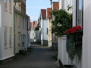 Typical swedish street