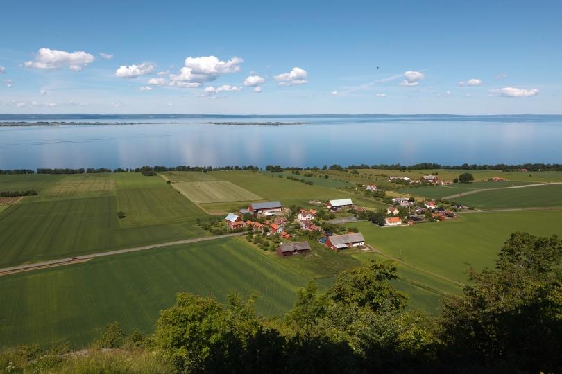 Semestra ute i landet: hitta boendet här (utsikt över Vättern)