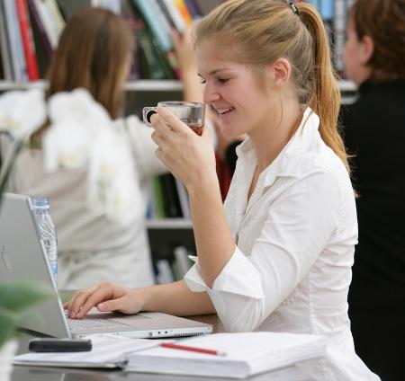 Student: skriv dig på studieorten