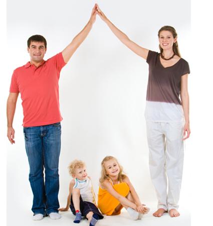 Många familjer har rätt till bostadsbidrag.
